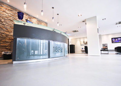 Isolas, Portland House, Gibraltar (Top Cret Flooring Microcemento®)